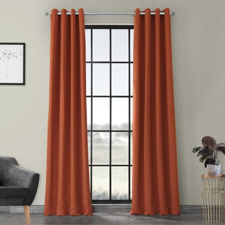 Blaze Grommet Blackout Curtain
