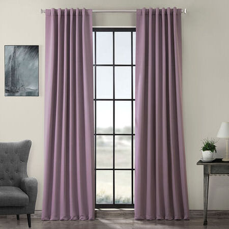 Purple Rain Blackout Curtain