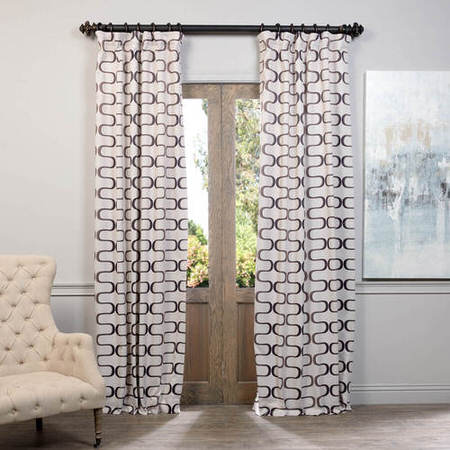 Retro Java Blackout Curtain