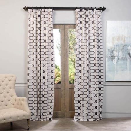 Retro Java Blackout Curtain