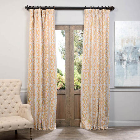 Pemba Gold Blackout Curtain