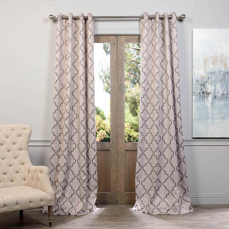 Seville Tan Grommet Blackout Curtain