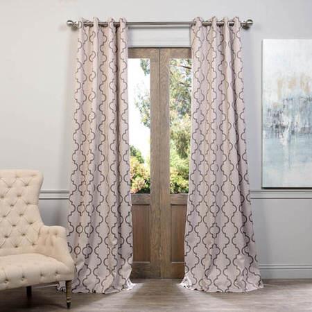 Seville Tan Grommet Blackout Curtain