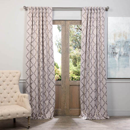 Seville Tan Blackout Curtain