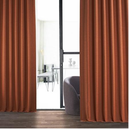 Persimmon Bellino Blackout Curtain