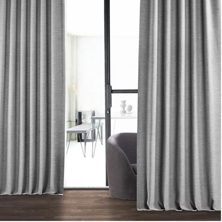 Vista Grey Bellino Blackout Curtain