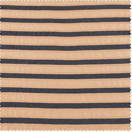 Blue & Beige Casual Cotton Swatch