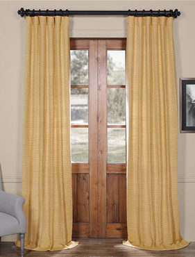 Lemon Grass Hand Weaved Cotton Curtain