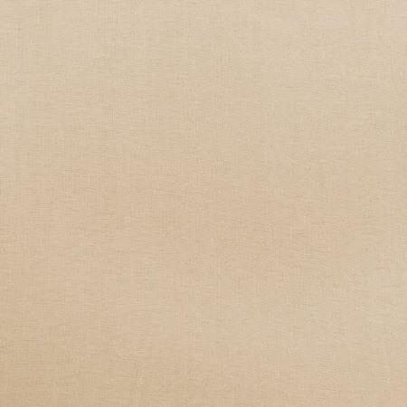 Seashell White Cotton Linen Blend Swatch