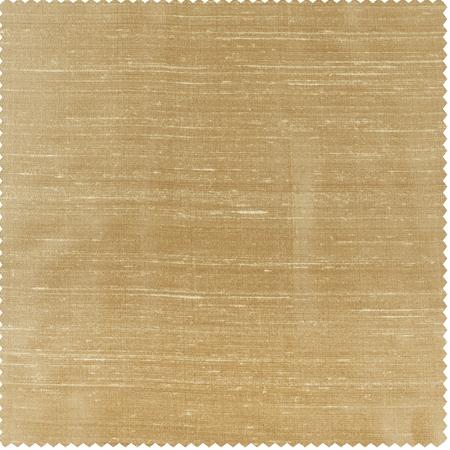 Biscotti Textured Dupioni Silk Swatch