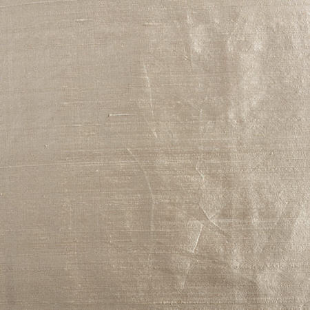 Biscuit Beige Textured Dupioni Silk Swatch