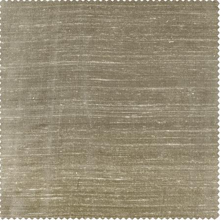 Cashmere Textured Dupioni Silk Swatch