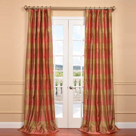 Derby Silk Plaid Curtain