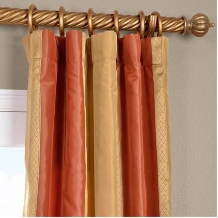 Somerset Silk Stripe Curtain