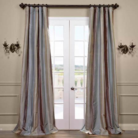 Varadero Silk Stripe Curtain