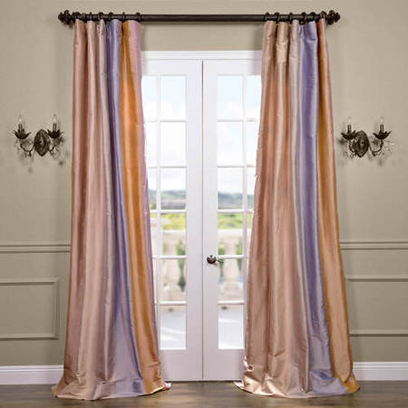 Sausalito Silk Stripe Curtain