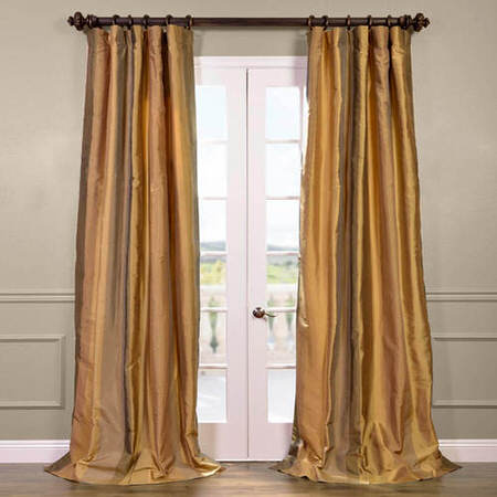 El-Dorado Silk Stripe Curtain