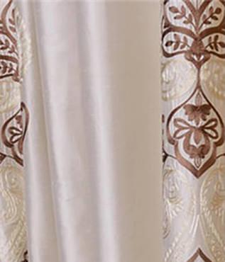 Carliyle Pearl White Thai Silk Swatch