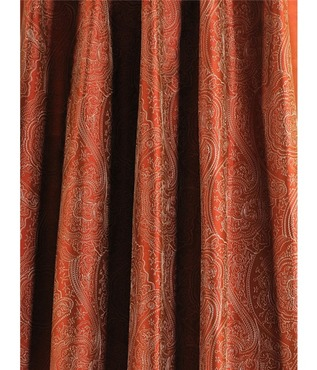 Cayenne Jamawar Embroidered Silk Swatch