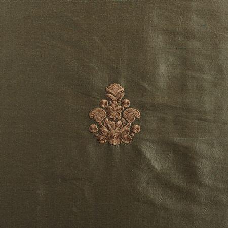 Trophy Sea Blue Thai Silk Swatch