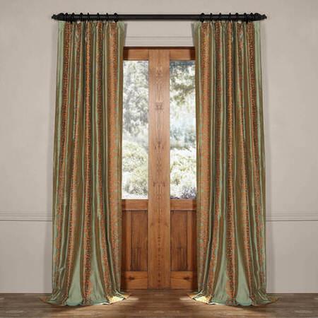 Borrache Silk Curtain