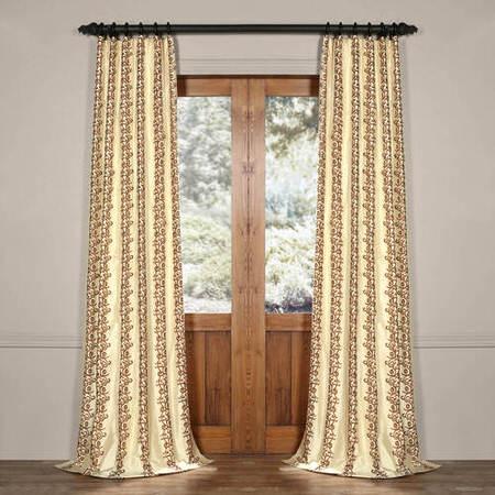 Olivia Silk Curtain