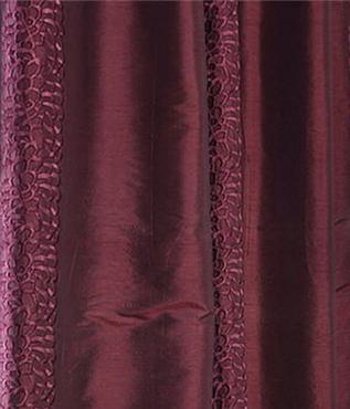 Baldwin Merlot Silk Swatch