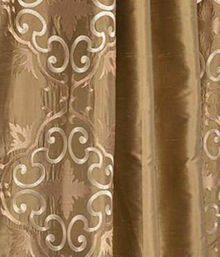 Cassandra Taupe Gold Silk Swatch