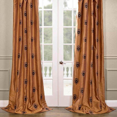 Buckingham Silk Curtain