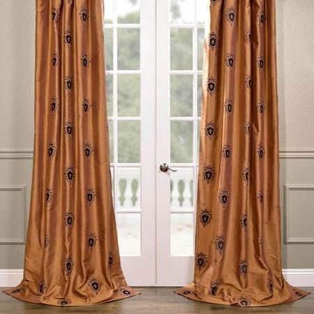 Buckingham Silk Curtain