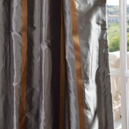 Preston Silk Taffeta Stripe Swatch