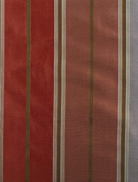 Fawn Multicolor Silk Stripe Swatch