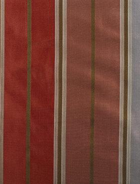 Fawn Multicolor Silk Stripe Swatch
