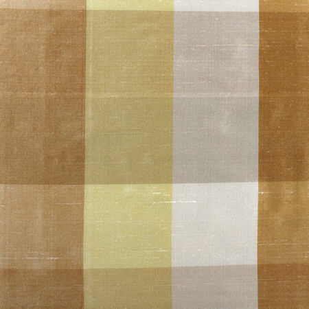 Buttermilk Silk Plaid Swatch
