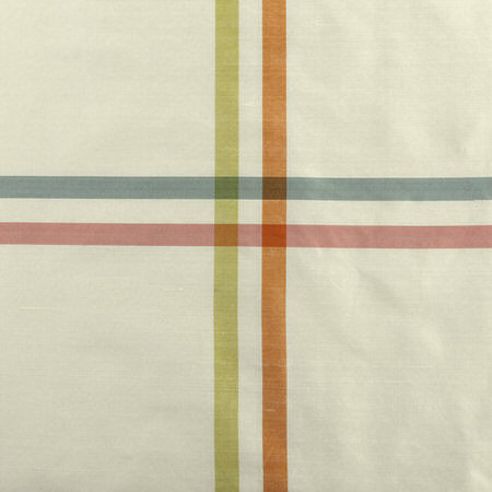 New Day Multicolor Silk Stripe Swatch