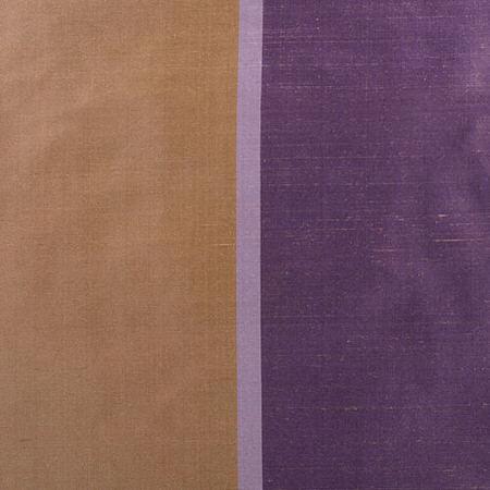 Smokey Topaz and Amethyst Silk Stripe Swatch