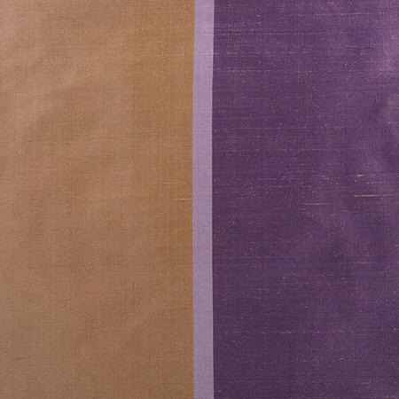 Smokey Topaz and Amethyst Silk Stripe Swatch