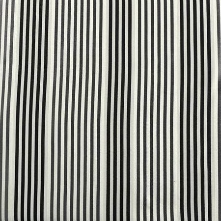Replay Metal Grey and Black Silk Stripe Swatch