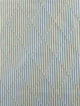 Carolina Blue Silk Stripe Swatch