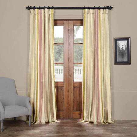 Bedford Stripe Silk Curtain