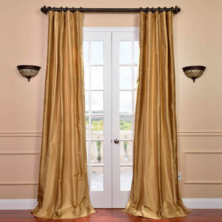 Eureka Silk Stripe Curtain