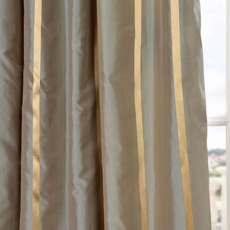 Providence Silk Taffeta Stripe Swatch