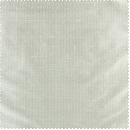 Cambridge White Silk Stripe Swatch