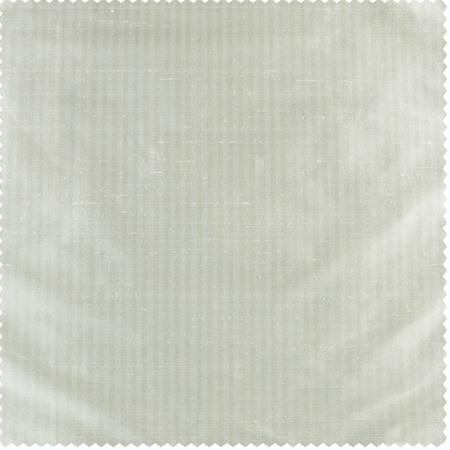 Cambridge White Silk Stripe Swatch