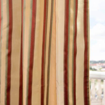 Toscano Silk Taffeta Stripe Swatch
