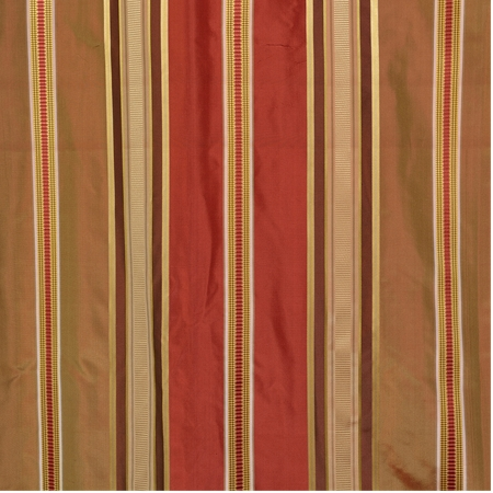 Alton Multi Stripe Designer Silk Swatch