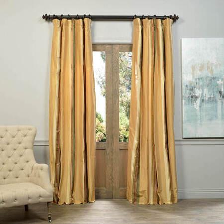 Haxby Multi Stripe Designer Silk Curtain