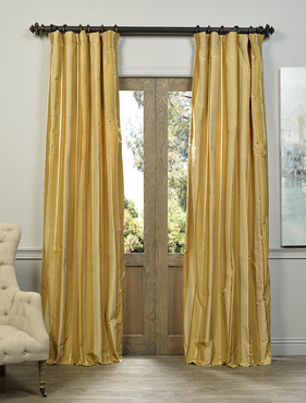 Spalding Multi Stripe Designer Silk Curtain