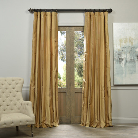Bromley Multi Stripe Designer Silk Curtain