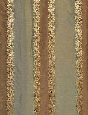 Dover Multi Stripe Designer Silk Swatch